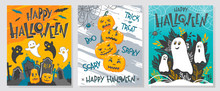 Collection Of Halloween Greeti...