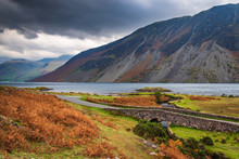 Wastwater Below The Screes / Wastwater Is Situated In Wasdale In The English Lake District Now A Unesco World Heritage Site