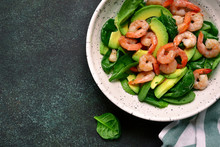 Avocado Salad With Baby Spinac...