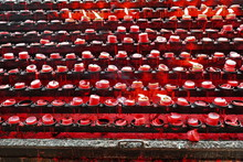 Red Votive Candles-Minor Basilica Of The Holy Child. Cebu-Philippines-0654