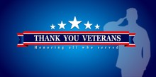 Thank You Veterans Day Web Banner, Poster