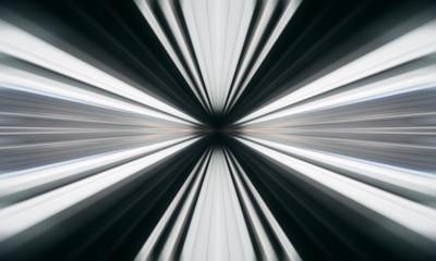 Speed motion blur abstract background. Symmetric kaleidoscope