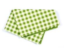 Green Checkered Napkin Table ...