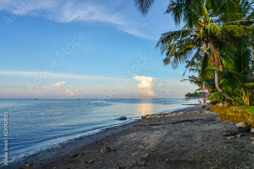 Poster Asia land Beautiful tropical seascape