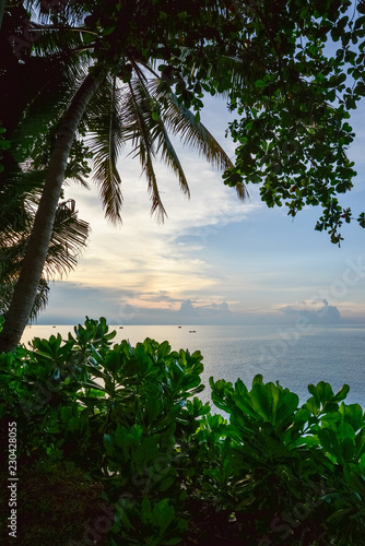 Spoed Foto op Canvas Asia land Beautiful tropical seascape