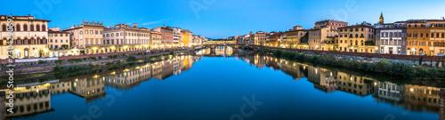 Poster Artistique Ponte Vecchio - Florence - Italia