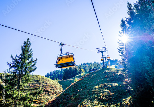 ski lift cabin
