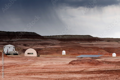 The Mars Desert Research Station (MDRS) in Utah, USA