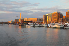 The Wharf And Buildings At The DC Waterfront