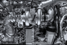 Mechanical Diesel Engine Background