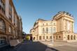 Chemnitzer Opernplatz mit Opernhaus und Petrikirche