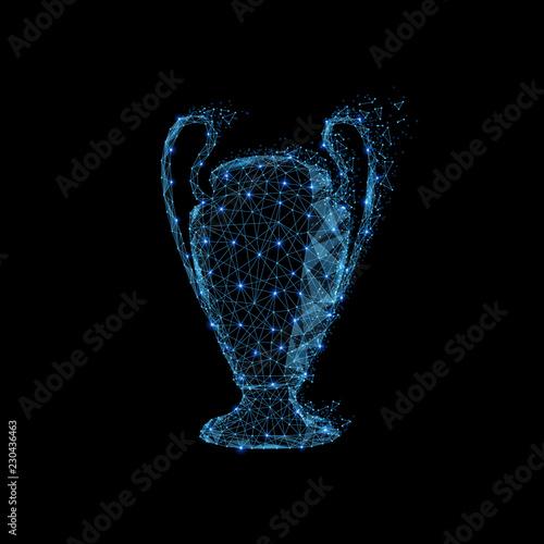 Fotografía  Trophy cup sign