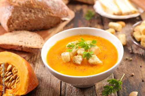 Fotografiet bowl of soup