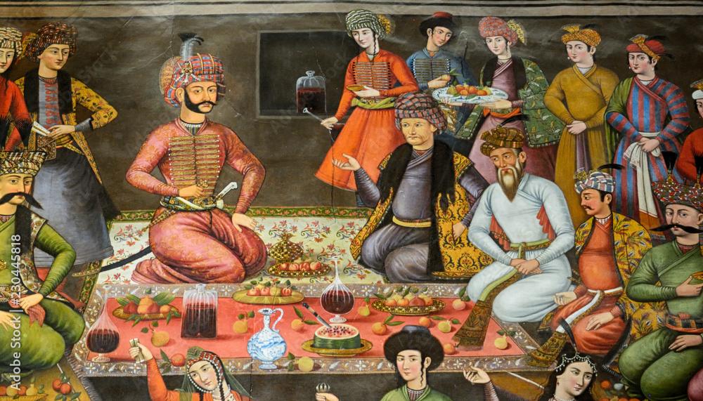 Fototapety, obrazy: ChehelSotoun Palace, Isfahan, Iran