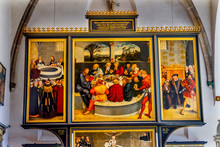 Last Supper Altarpiece Mary's ...