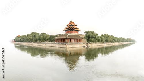 Photo Stands Beijing Verbotene Stadt China, forbidden city china