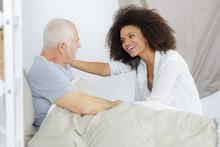 Senior Patient Receiving Help ...