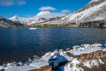 Mt Henkel And Swiftwater Lake ...