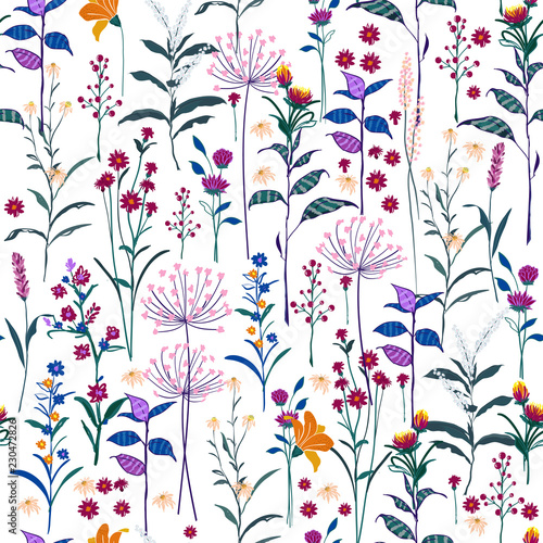 modny-dziki-kwiatowy-wzor-w-wielu-rodzajach