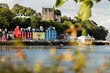 canvas print picture - Tobermory town, capital of the Isle of Mull in the Scottish Inner Hebrides, Scotland, United Kingdom, Europe