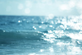 water of tropical sea, bokeh