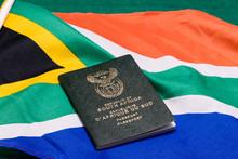 South African Passport On SA F...