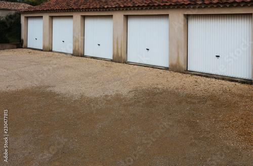 Fototapeta garages