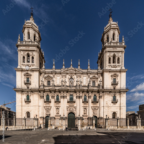 Fotografía  The Assumption of the Virgin Cathedral is a Renaissance-style, Roman Catholic cathedral located in Jaén, region of Andalusia, Spain