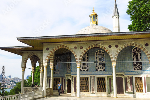 Baghdad Kiosk situated in the Topkapi Palace