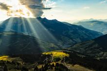 Mountain Range In France