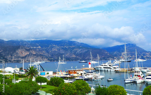 Staande foto Poort The resort town of the south of France Cap Ferrat