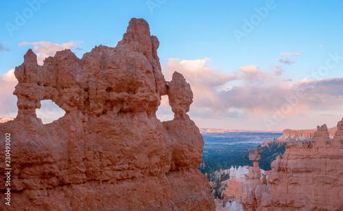 Poster Parc Naturel Beautiful Landscape of Bryce Canyon, Utah, USA