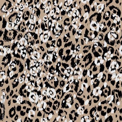 Leopard textured skin Wall mural