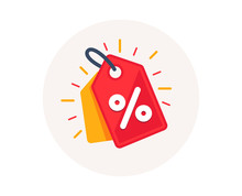 Discount Offer Tag Icon. Shopp...