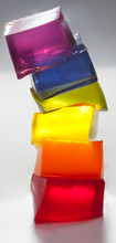 Cubes Of Translucent Rainbow C...