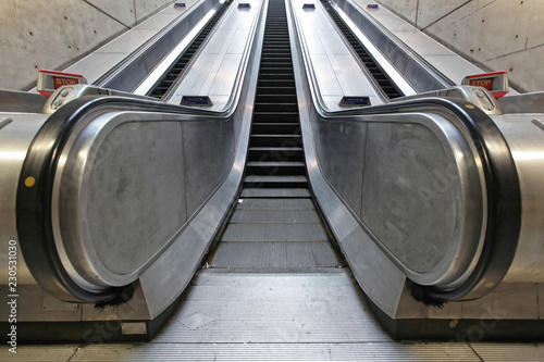 Underground Escalator Transport