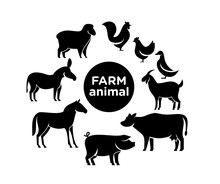Animal Farm Logo Icon Designs ...
