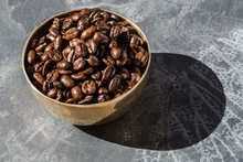 Bowl With Coffee Beans