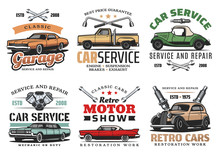 Vintage Cars And Tools, Repair...