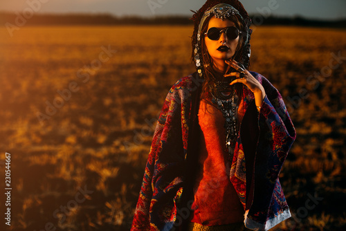 Photo sur Toile Gypsy boho style clothes