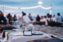 Seafood Dinner At Restaurant V...