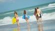 Teenage Girls Parents Beach Body Board