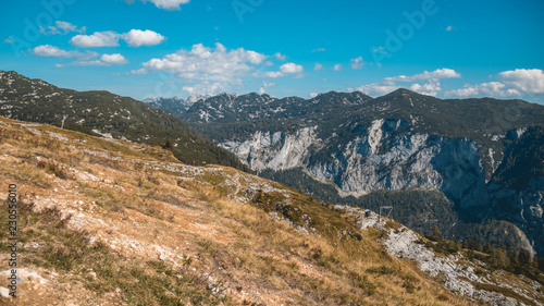 Beautiful alpine view at the Loser summit-Altaussee-Steiermark-Austria