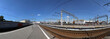 Kursky railway terminal (also known as Moscow Kurskaya railway) is one of the nine railway terminals in Moscow, Russia (Panorama)