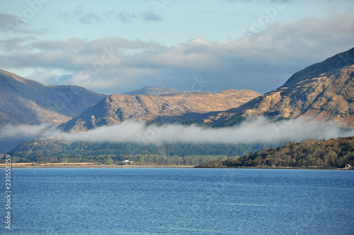 Spoed Foto op Canvas Blauwe jeans Beautiful landscapes of Scotland.