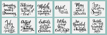 Lettering Phrases About All Mo...