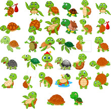 Cartoon Turtle Collection Set