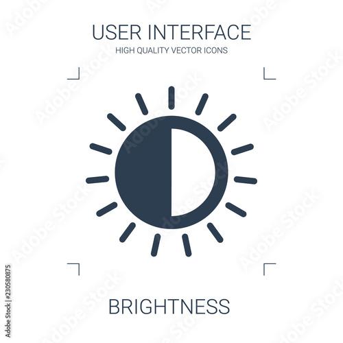 Carta da parati brightness icon