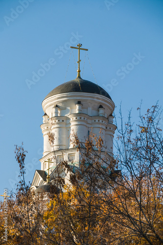 Valokuva  Christian Orthodox Church of Ascension in Kolomenskoye, Russia, Moscow