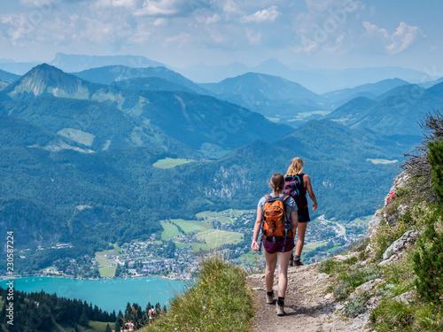 Wanderung in Österreich am Schafberg